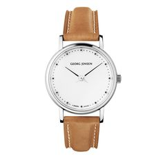 Koppel 424 Lady's Watch, Brown - Henning Koppel - Georg Jensen