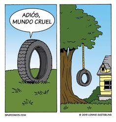 La dura vida de los neumáticos viejos