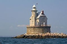 Race Rock Lighthouse, New York by nelights, via Flickr