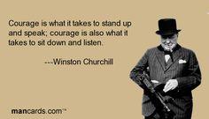 Winston Churchill forever