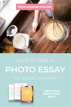 There are times when we will want more than just one picture of a event or  activity, and there is where the photo essay comes in! Telling a story  through images can be made much easier when we use several frames, rather  than attempting to capture everything in just one shot.  To try to get t