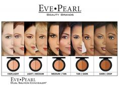 Dual Salmon Concealer Treatment SALMON CONCEALERS Eve Pearl