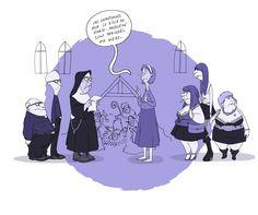 Illustration pour le blog : Le mot d'Adèle #Illustration #Graphisme #Draw #Personnage #dessin #blog