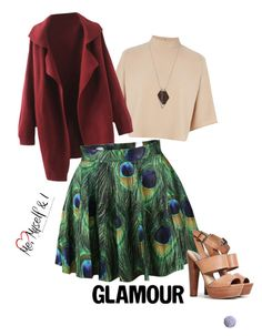 """""""Bez naslova #1"""" by sejlasejmen ❤ liked on Polyvore featuring Warehouse, Steve Madden, Monique Péan and cute"""