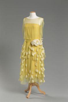 Evening Dress c.1925 Western Reserve Historical Society