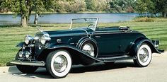 The 1930-1935 Cadillac Eight was the high point of Cadillac luxury and design. The next page has a more powerful classic from Cadillac.