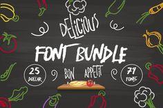 Delicious Shop Bundle by Magic Hands on @creativemarket