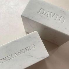 Carrara, Petra, Interiores Design, Bookends, Place Card Holders, Stone, Instagram Posts, Accessories, Rock