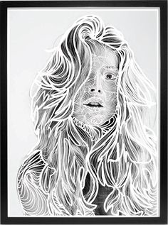 Interieur poster, A3 formaat, muurdecoratie/wanddecoratie. Prachtige poster met een doodle portret, geschikt voor in elke woonkamer, keuken of slaapkamer.   Te koop op ETSY! Most Beautiful Pictures, Poster, Portrait, Prints, Fictional Characters, Image, Modern, Life, Men Portrait