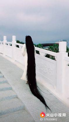 Long Natural Hair, Very Long Hair, Natural Hair Styles, Long Hair Styles, Beautiful Long Hair, Gorgeous Hair, Long Indian Hair, Rapunzel Hair, Long Hair Video