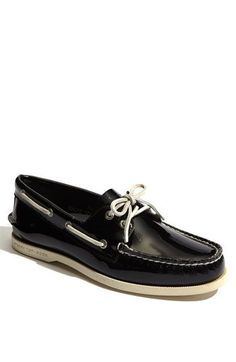 57b3f8e3a137 Sperry Top-Sider®  Authentic Original  Patent Leather Boat Shoe