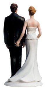 Wedding gift:Weddingstar The Love Pinch Bridal Couple Figurine, Caucasian Couple
