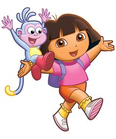 dora & boots ... loved watching this with my granddaughter jalene