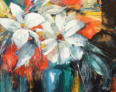 Amapolas - óleo espátula sobre lienzo por Dmitry Spiros. Tamaño: 24 x 32 (60 x 80 cm)  Título: amapolas Tamaño: 24 x 32(60 cm x 80 cm) Condición: A estrenar Galería de estimado valor: $3.000  Tipo: Original recreación pintura al óleo sobre lienzo por el cuchillo de paleta  Esta es una recreación de una pieza que ya fue vendida.  La recreación es 100% pintado a mano por Dmitry Spiros usando pintura de aceite, lona y espátula.  No una copia idéntica, es una recreación de un tema viejo. Esta…