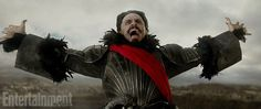 Pin for Later: Here's the First Look at Hugh Jackman as Blackbeard in Pan  Jackman gets into character as Blackbeard.