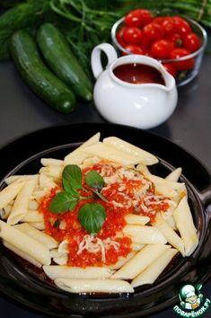 Почти Неаполитанский соус – кулинарный рецепт Dinners Under 500 Calories, Recipes, Recipies, Recipe