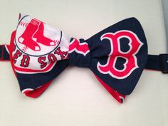 Boston Red Sox Bowtie by ReiserCreations on Etsy