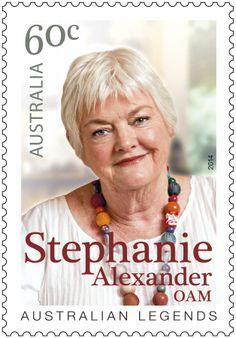 Stephanie Alexander's Australian Legends of Cooking Stamp
