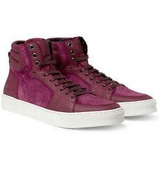 Yves Saint Laurent or should I say Saint Laurent Paris new high top sneakers