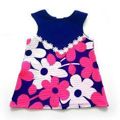 Flower Power Shift Dress.