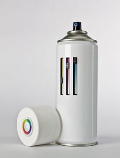 All-in-one spray can by Mister Solo.