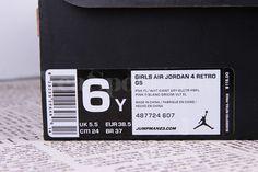 Air Jordan 4 Retro Pink Foil GS