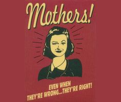 - And don't you just hate it! Happy Mother's Day!