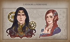 Fëanor and Nerdanel