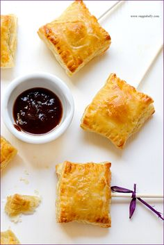 Sweet Potato Samosas - I would make these sans pop, but for as much Indian food as I make and eat, I really need to try samosas.