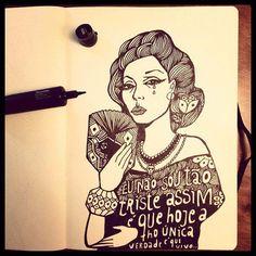 Ilustração de Clarice. Por Rogerio Fernandes :