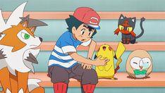 See more 'Pokémon Sun and Moon' images on Know Your Meme! Pokemon Gif, Ash Pokemon Team, Pokemon Snorlax, Pokemon Sketch, Pokemon People, First Pokemon, Pokemon Comics, Pokemon Memes, Pokemon Fan Art