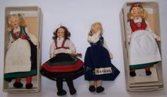 4 RONNAUG PETTERSSEN DOLLS : Lot 4112