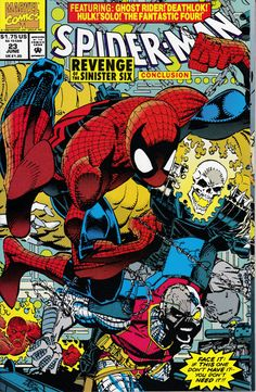 Spider-Man 23 June 1992  Issue  Marvel Comics  by ViewObscura