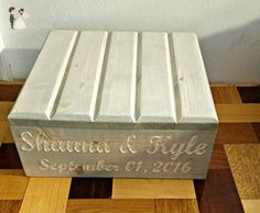 Custom Cake Stand, customized cake stand, Wedding Cake Stand, Custom cake stand, Reclaimed cake stand,Personalized cake stand, Rustic Cake Stand, Country Wedding - Wedding table decor (*Amazon Partner-Link)