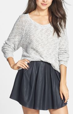 Light weight V-Neck Sweater that can be dressed up or down.
