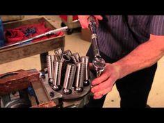 Hydraulic pump overhaul repair