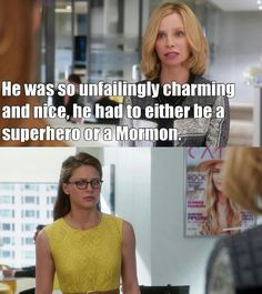 Is nobody else gonna talk about this?? This was my literal favorite part of the whole episode! Cat is hiliarious! And i also love that this is generally Kara's expression after talking to Cat.