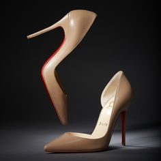 """Every woman should have a nude shoe. It becomes an almost organic part of the body."" -Christian Louboutin"