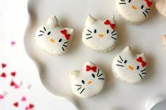 Hello Kitty French Macarons