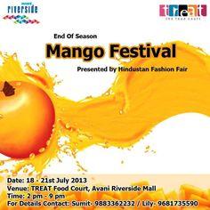 End of Season Mango Festival from 18 to 21 July 2013 at Avani Riverside Mall, Howrah | Events in Kolkata / Calcutta | mallsmarket.com