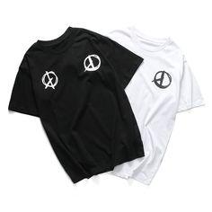 >> Click to Buy << PEACEMINUSONE T Shirt Men BIGBANG G-DRAGON Hip Hop Skateboard 100% Cotton Kpop New Style MADE TOUR Peaceminusone Tee Shirts Tops #Affiliate