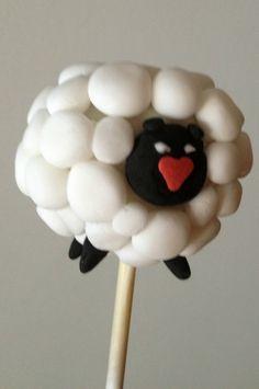 sheep cakepops