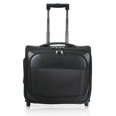 Traveler's Choice Rolling 15-inch Laptop Carry-on Overnighter Tote