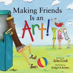 This title is the first in a Building Relationships series of books focusing on relationship-building skills for children. Included in the book are tips for parents and teachers on how to help children who feel left out and have trouble making friends. Teaching Social Skills, Teaching Kids, Teaching Rules, Guidance Lessons, Character Education, Social Thinking, School Counselor, Children's Literature, Read Aloud
