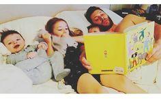 Jensen and his children