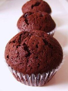 1番簡単♪チョコカップケーキ