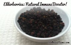 Benefits and Uses of elderberries - Elderberries can naturally support the body's immune function and help avoid or recover from sickness like the flu.