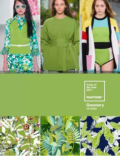 Pantone recently revealed their 2017 colour of the year. Already seen on the Spring/Summer 2017 catwalks, Greenery is a fresh and zesty yellow-green shade that evokes the first days of spring. The colour is all about rejuvenation and freshness. This vibrant colour can be used across many product categories from apparel to interiors.