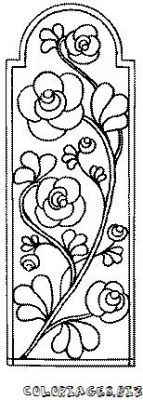 stained glass window coloring page - Google 検索