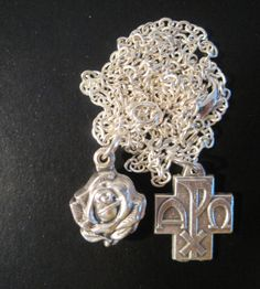 GUARDIAN ANGEL LOCKETAlpha Omega Cross by CrucifixArt on Etsy, $36.00